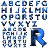 Insieme speciale di progettazione di alfabeto di ABC Fotografie Stock