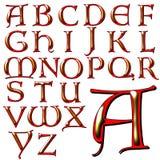 Insieme speciale di progettazione di alfabeto di ABC Immagine Stock