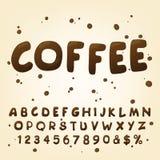 Insieme supplementare per lo stile del caffè Fotografie Stock