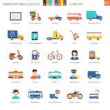 Insieme variopinto 02 di trasporto illustrazione vettoriale