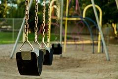 Insieme vuoto dell'oscillazione dei childs Immagini Stock