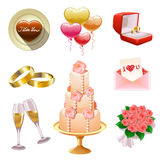 Insieme Wedding Immagine Stock Libera da Diritti