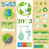 Insiemi di ecologia Fotografia Stock