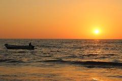 Insiemi di Sun di Clolourful Fotografia Stock