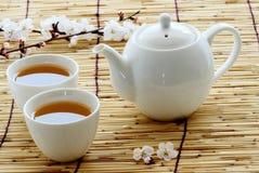 Insiemi di tè Immagini Stock
