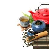 Insiemi di tè cinesi Immagini Stock Libere da Diritti