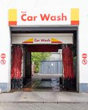 Insight Into A Shell Car Wash In Berlin, Germany stock photo