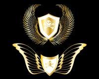 insigne d'or illustration libre de droits