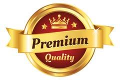 Insigne d'or de haute qualité Photos libres de droits