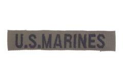 Insigne d'uniforme de MARINES des USA images libres de droits