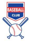 Insigne de base-ball Illustration de Vecteur