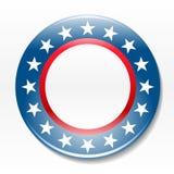 Insigne de campagne d'élection Images libres de droits