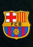Insigne de FC Barcelone Photos stock