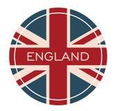 Insigne de l'Angleterre - Photographie stock libre de droits