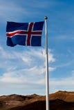 Insigne de l'Islande photo libre de droits
