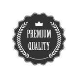 Insigne de la meilleure qualité de qualité Photos stock
