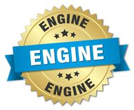 Insigne de moteur illustration de vecteur