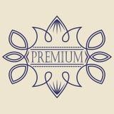 Insigne de vintage Calibre de logo Photos libres de droits
