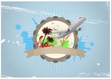 Insigne de voyage illustration libre de droits