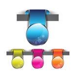 Insigne de Web Images libres de droits
