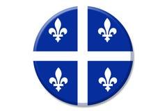 Insigne du Québec illustration de vecteur