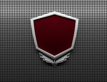 Insigne en métal Image libre de droits