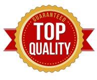Insigne garanti par haute qualité Image libre de droits