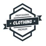 Insigne Logo Design Template Vector Symbol de hippie de vintage d'hexagone Photographie stock