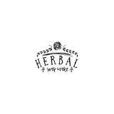 Insigne pour des petites entreprises - le savon de fines herbes de salon de beauté font Autocollant, timbre, logo - pour la conce Photographie stock libre de droits