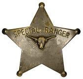 Insigne spécial de garde forestière photo stock