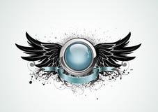 Insignes à ailes Photographie stock