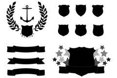 Insignes illustration de vecteur
