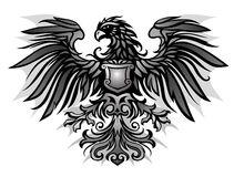 Insignes d'Eagle illustration stock