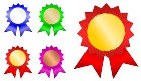Insignes de gagnant illustration libre de droits