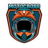 Insignes de motocross Image libre de droits