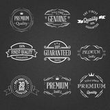 Insignes de qualité Images stock
