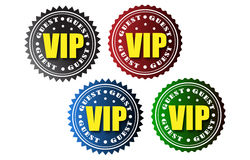 Insignes de VIP Photos stock