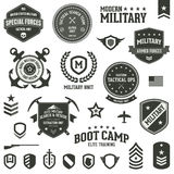 Insignes militaires Photos stock