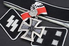 Insignia войск WW2 немецкие Waffen-SS стоковые изображения