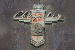 Insignia 1948 Крайслера новые Yorker Стоковое Изображение RF