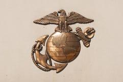 Insignia морской пехот Стоковое Изображение RF