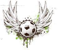 insignia футбола иллюстрация вектора