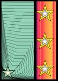 Insignia-1 abstrato ilustração stock