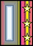 Insignia-2 abstrato ilustração do vetor