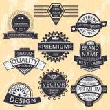 insignia ilustração stock