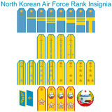 Insignia Air Force North Korean army Royalty Free Stock Photo