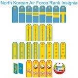 Insignia Air Force North Korean army Royalty Free Stock Photo