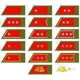 Insignia Army Slovakia Stock Photography