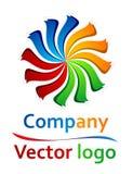 logotipo coloreado 3D del tornillo Foto de archivo