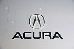 Insignia de Acura Imagen de archivo